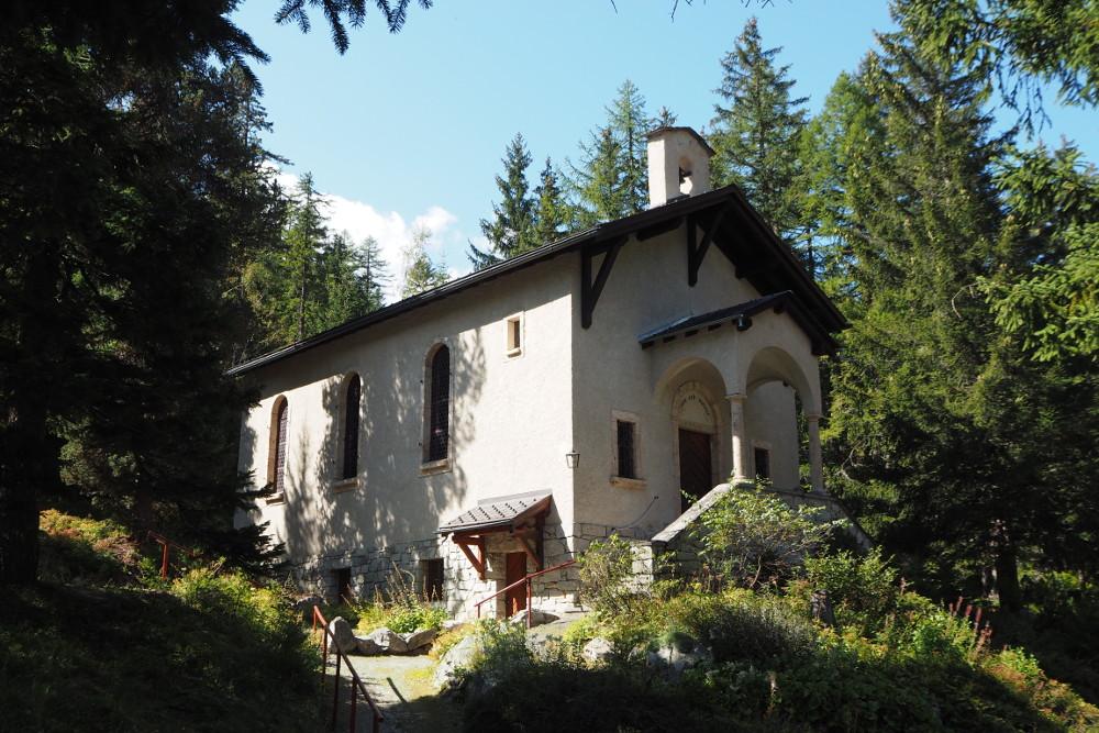 Chapelle des Arolles, Champex-Lac