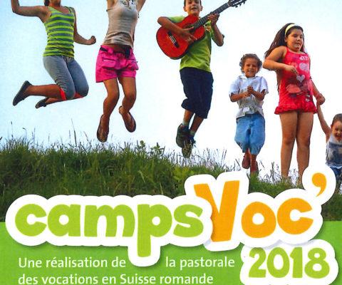 Camps vocation 2018